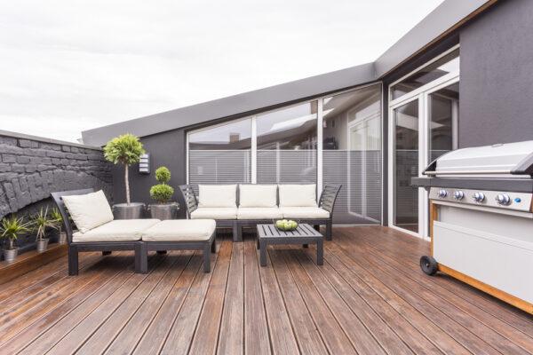 revêtement pour la terrasse